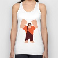 wreck it ralph Tank Tops featuring Wreck-It Ralph by George Hatzis