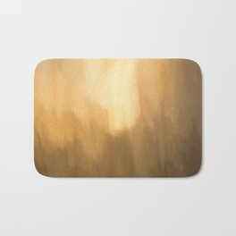 Abstract Beige Shades. Like painted on canvas. Bath Mat