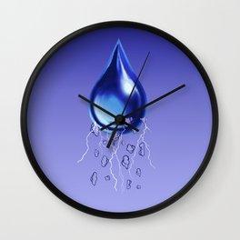 StormDrop Wall Clock