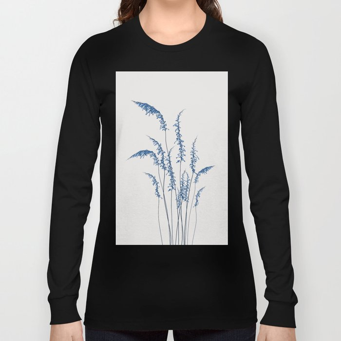 Blue flowers 2 Long Sleeve T-shirt