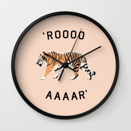 ROOOOAAAAR ! - Tiger Wall Clock