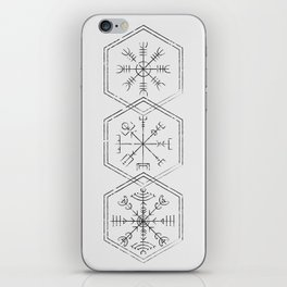 Three runes iPhone Skin