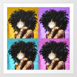 Naturally II Colors Art Print