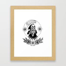 Garden Reaper Framed Art Print