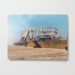 Santa Monica Fun Metal Print