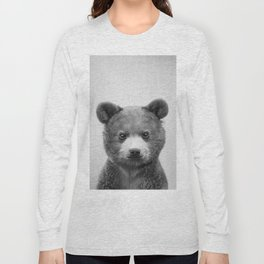 Baby Bear - Black & White Long Sleeve T-shirt