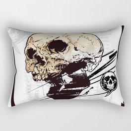 Skull 001 Rectangular Pillow