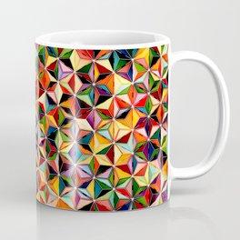 Star Cubes Geometric Art Print. Coffee Mug