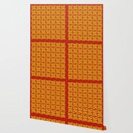 Burning Triangles Wallpaper
