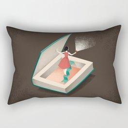 Inquiring Rectangular Pillow