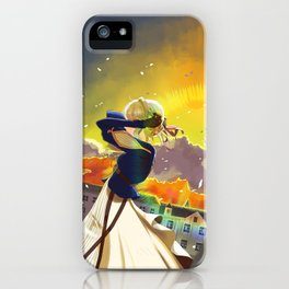 Violet Evergarden fanart iPhone Case