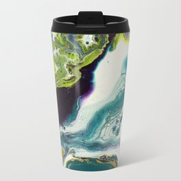 Peacock Island Travel Mug