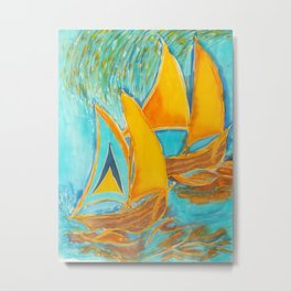 """St. Lucia"" Metal Print"