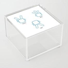 Peace Not War Acrylic Box