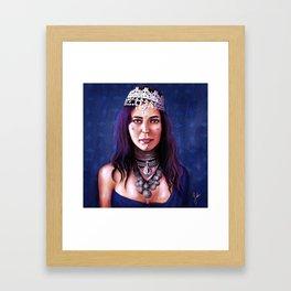 Monaiza Framed Art Print