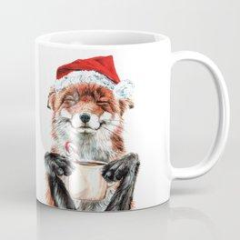 Morning Fox Christmas Coffee Mug