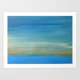Sunset Series (iii) Art Print