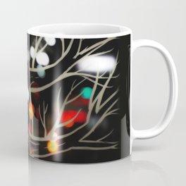 City lights from a skywalk Coffee Mug