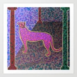 Animal Print Yearning Lost Habitat Art Print