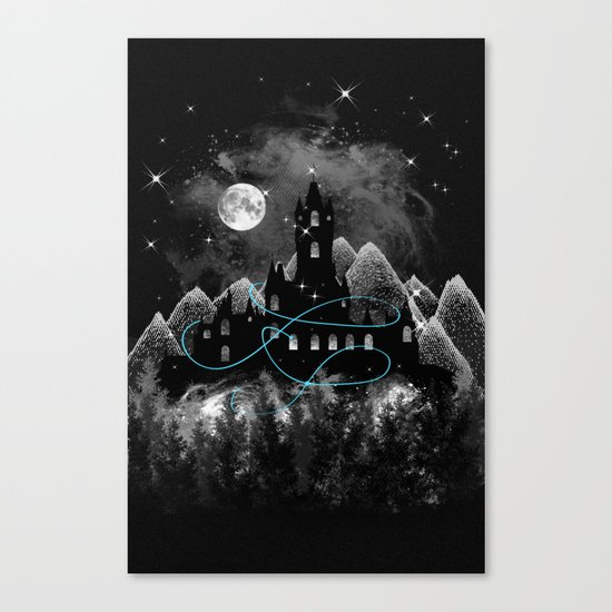 The Hidden Kingdom Canvas Print