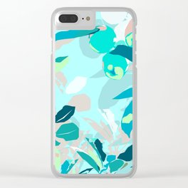 Apple tree zoom in Clear iPhone Case