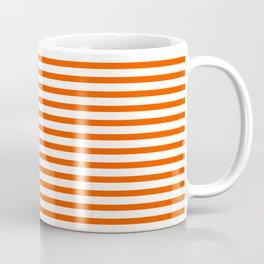 Orange Candy Stripes Coffee Mug