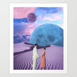 Our Beautiful Universe Art Print
