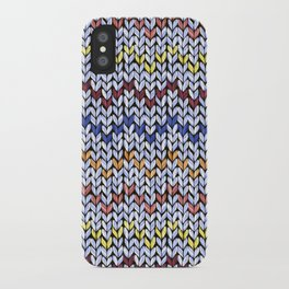 Knitting Hygge iPhone Case