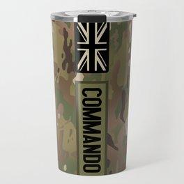 British Flag: Commando (Camo) Travel Mug