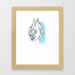 BASS KICK Framed Art Print