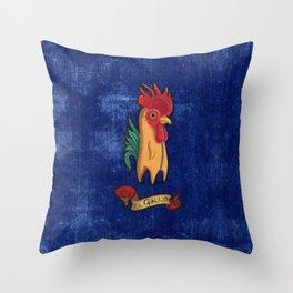 El Gallo Throw Pillow