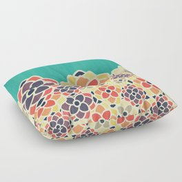 Spring Garden Floor Pillow