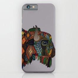 bison heather iPhone Case