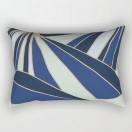 Butterflies in Blue Rectangular Pillow