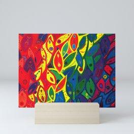Tribute to the Decendents of the Goddex Kunta (rainbow) Mini Art Print