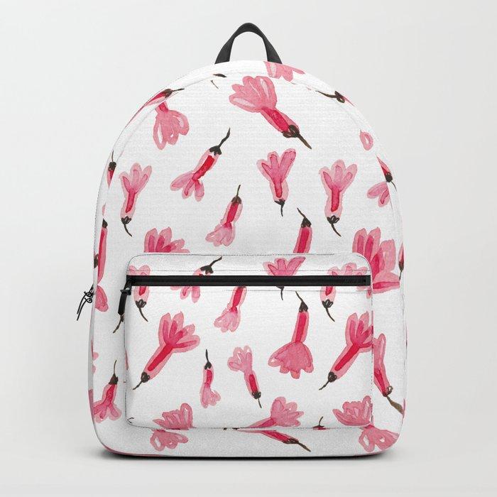 Mini pink flowers Backpack