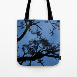 Midnight Branches Tote Bag