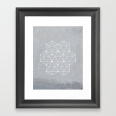 Sacred Geometry - Stars Framed Art Print