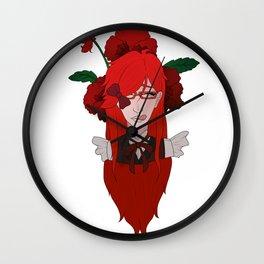Grell Sutcliff // Pansy Wall Clock