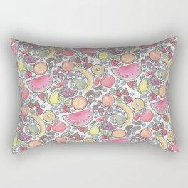 Fruits in Color Rectangular Pillow