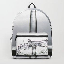 Water drop splash 0500 Backpack