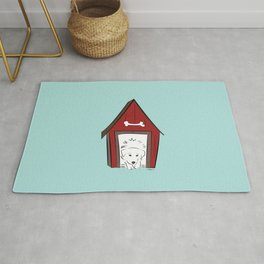Home Sweet Great Pyrenees Home Rug