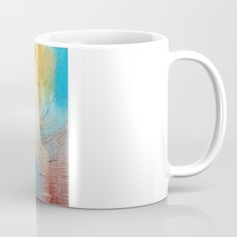 Of the Earth 1 by Nadia J Art Coffee Mug