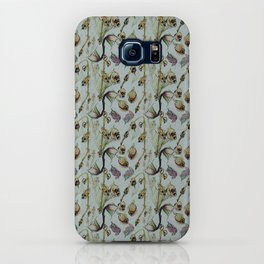 Dead Rose & Snapdragon Pattern iPhone Case