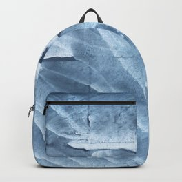 Light steel blue colored wash drawing texture Backpack