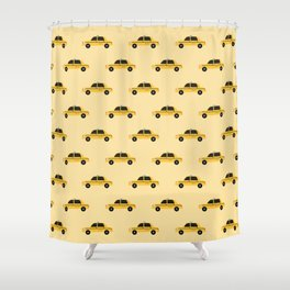 New York City, NYC Yellow Taxi Cab Shower Curtain