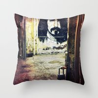 zappa Throw Pillows featuring Zappa by Litew8