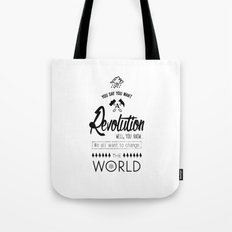 Lennon's Revolution Tote Bag