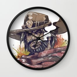 it's high noon Wall Clock