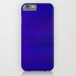 Ultra Violet to Indigo Blue Ombre iPhone Case